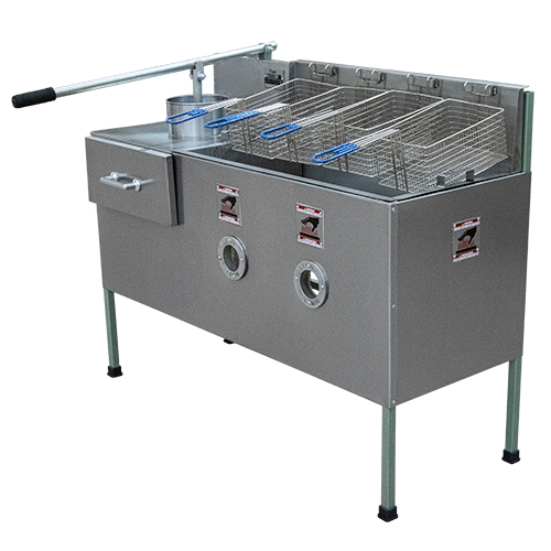 Duplex Chips Cutter and Fryer