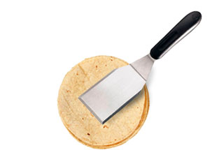 tortilla with spatula